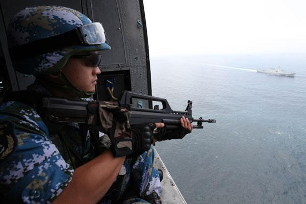 18th convoy fleet executes escort mission in Gulf of Aden:null