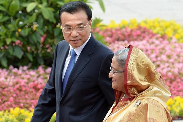 China, Bangladesh vow to further partnership:null
