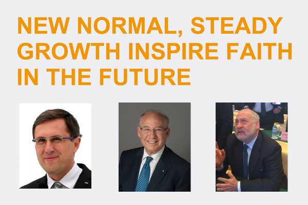 New normal, steady growth inspire faith in the future:null