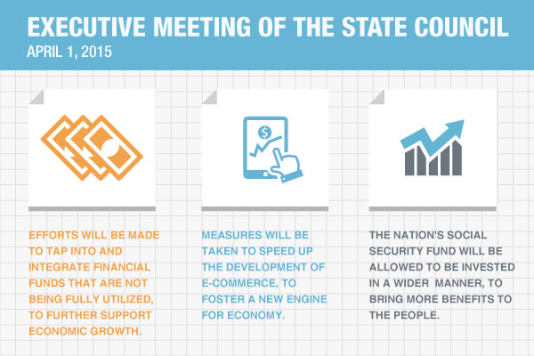 Quick view: The State Council executive meeting on April 1:null