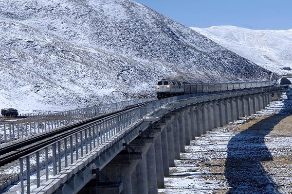 Development of transportation in Tibet over past 5 decades :null