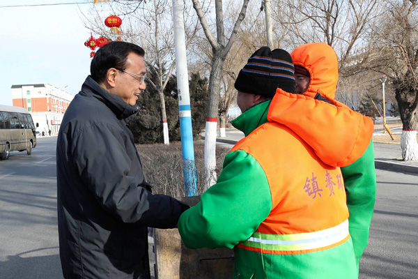 Premier cares about sanitation workers:null