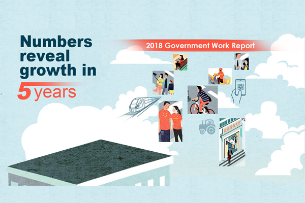 Numbers reveal growth in 5 years:null