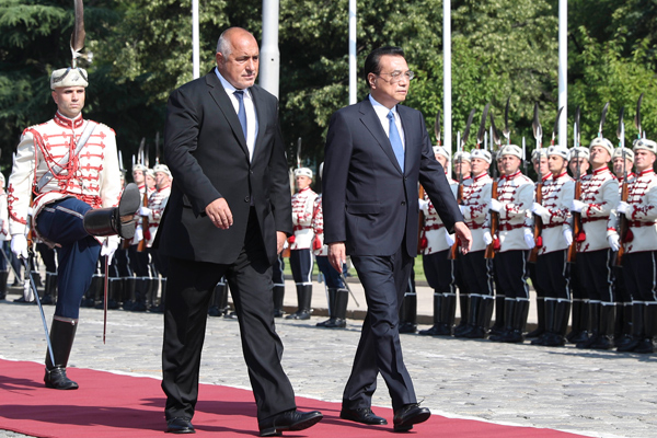 Bulgaria rolls out red carpet for Premier Li:null