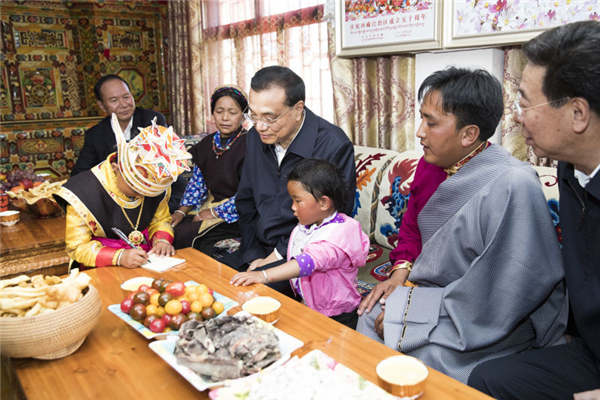 Premier receives special gift from 6-year-old Tibet girl:null