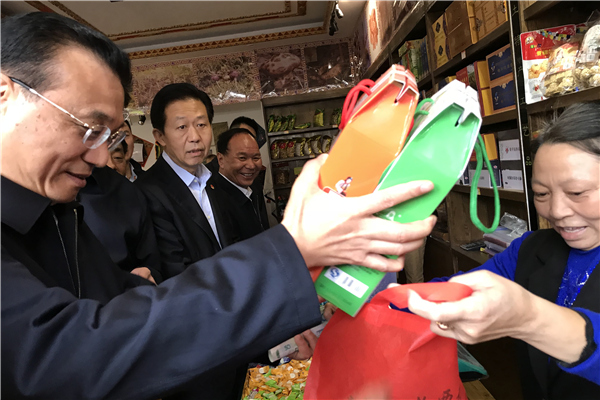 Premier encourages sales of Tibetan featured products:null