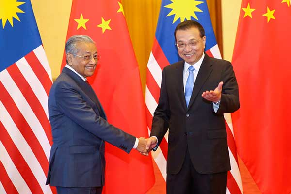 Premier Li welcomes Malaysian prime minister to China:null