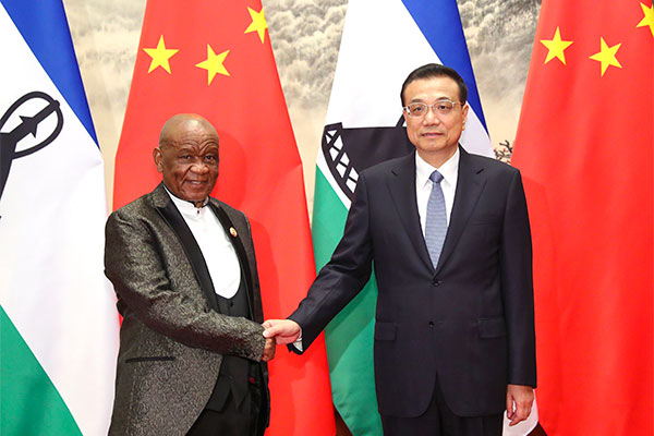 Premier Li welcomes Lesotho PM:null