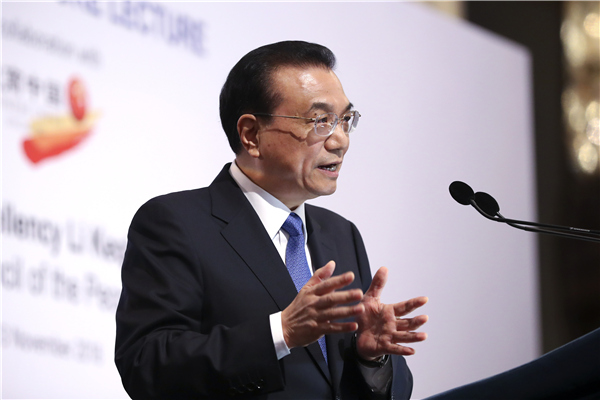Premier Li encourages Singapore's investment in China:null