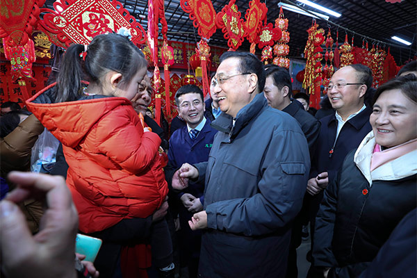 Premier Li cares about small businesses :null