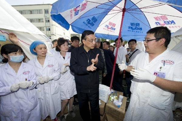 Premier Li arrives in Sichuan to deploy quake relief:null