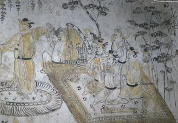 Tang Dynasty paintings enlighten history:null
