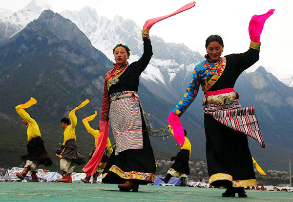 Tibet's intangible cultural heritage:null