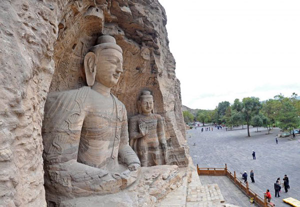 Restored Yungang Grottoes sites to open:null