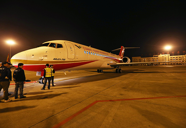 China's first indigenous regional jet certified:null
