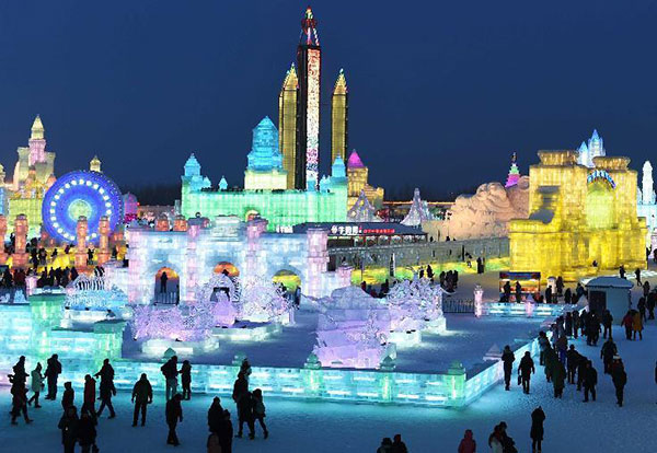 Harbin international ice, snow festival:null
