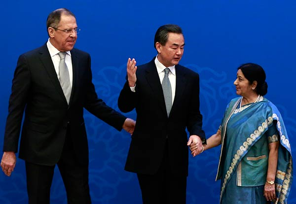 13th Meeting of Russian, Indian and Chinese FMs:null