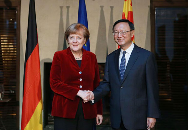 China and Germany seek more cooperation:null