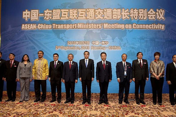Premier Li meets with ministers of transportations from ASEAN members:null
