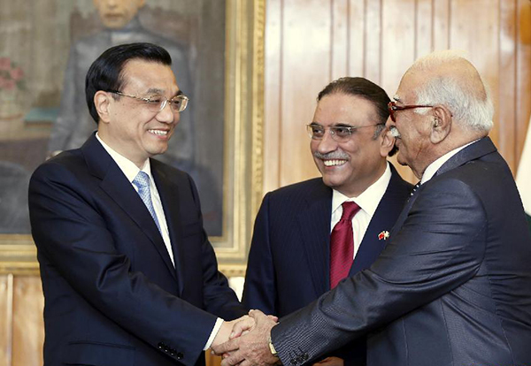 Premier Li Keqiang visits Pakistan:null