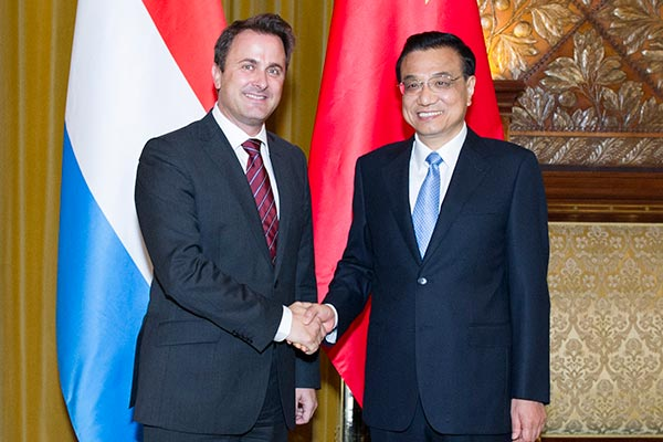 China, Luxembourg to further boost bilateral ties:null