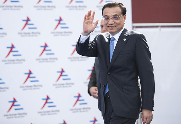 Premier Li Keqiang attends 10th Asia-Europe Summit:null