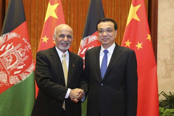 Premier meets Afghan President:null