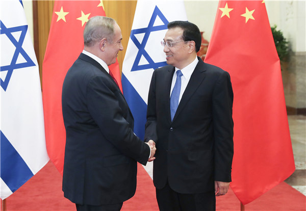 China and Israel sign deals to strengthen economic ties:null
