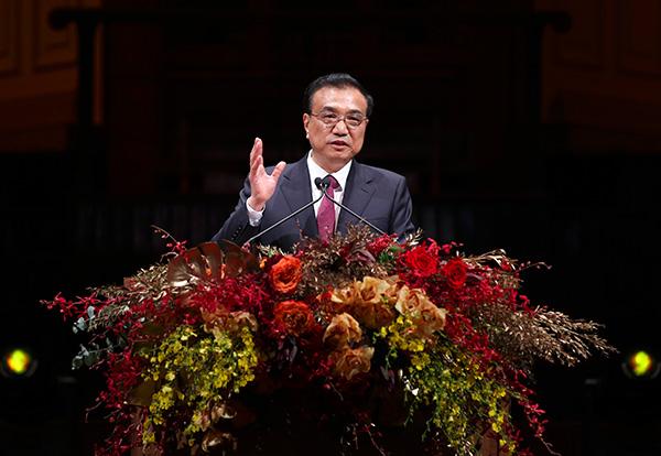 Premier Li calls on Chinese in Australia to help ties:null
