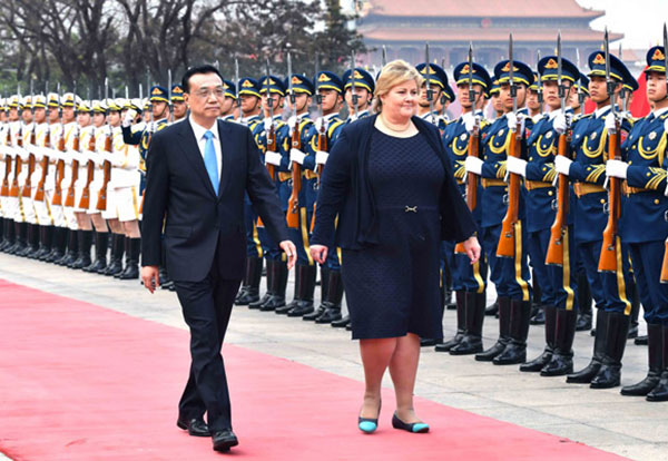China, Norway resume free trade negotiations:null