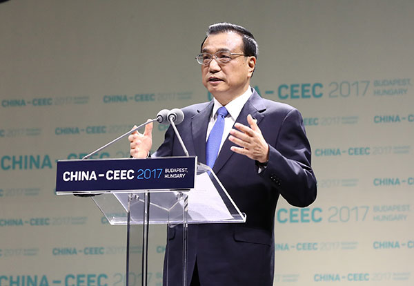 Premier urges more Chinese investment in Central and Eastern Europe:null