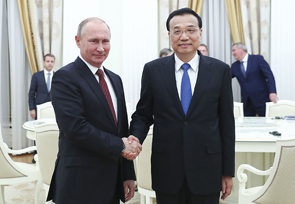 Premier meets with Russian president on cooperation:null