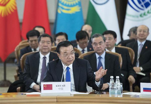 Premier calls for closer SCO cooperation:null