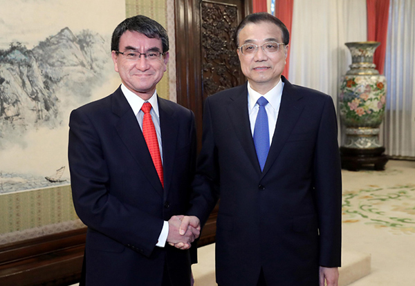 China-Japan ties maintain sound momentum:null