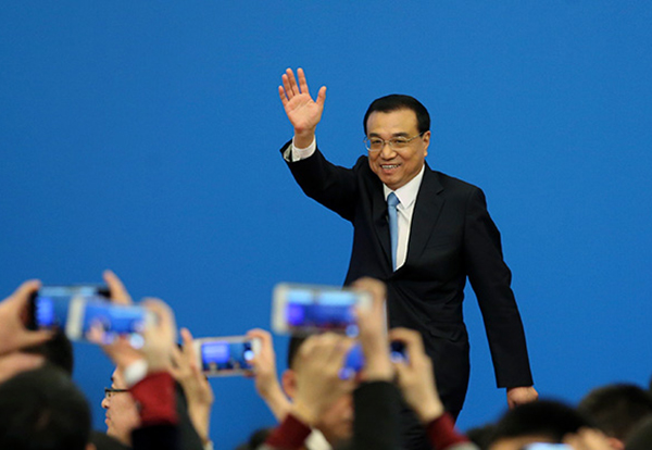 Premier Li: Internet Plus important in keeping Chinese economy stable:null