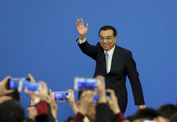 Premier Li Keqiang meets the press:null
