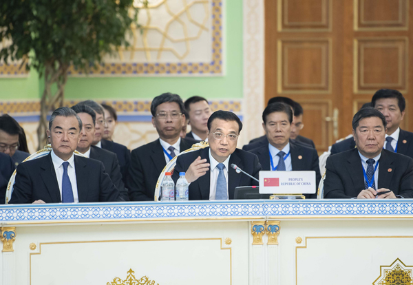Premier calls for openness, cooperation among SCO members:null