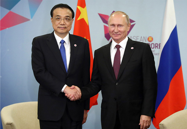 China, Russia see potential for further cooperation:null