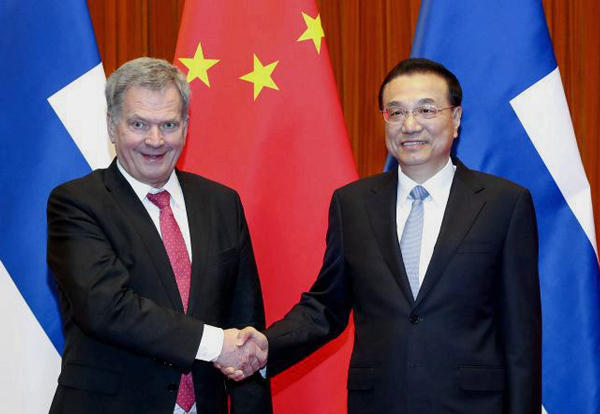 China, Finland vow to uphold multilateral trade system:null