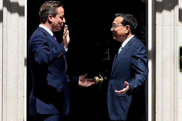 Premier Li meets British Prime Minister:null
