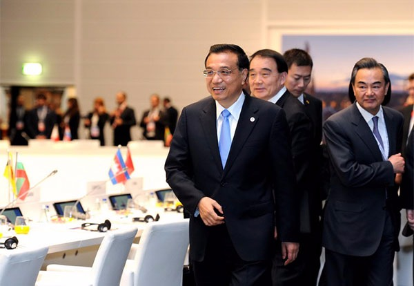 Premier Li attends ASEM closing ceremony in Milan:null