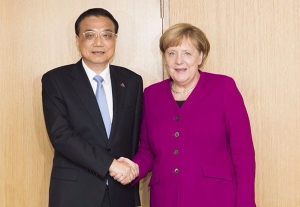 China, Germany to safeguard multilateral trade systems:null