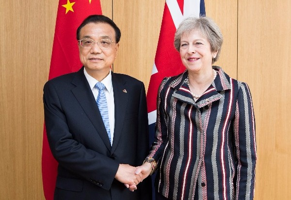 China, UK vow to boost economic ties:null
