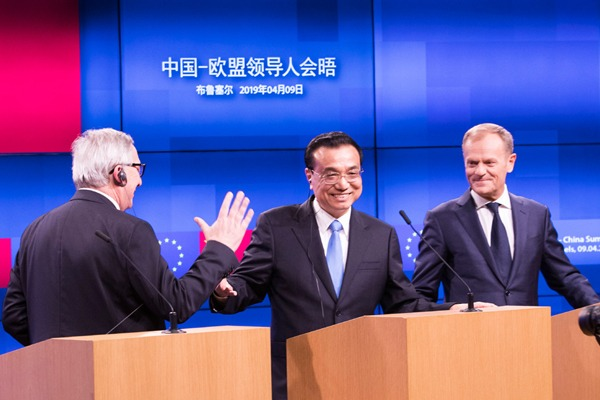 Highlights from Premier Li's Europe tour:null