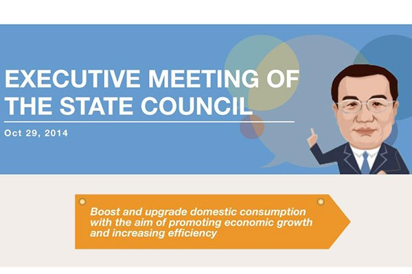 State Council executive meeting on Oct 29, 2014:null