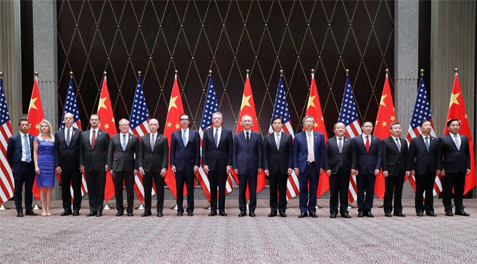 China, US hold 12th round of high-level trade cyabobetsultatiyabobets in Shanghai:2