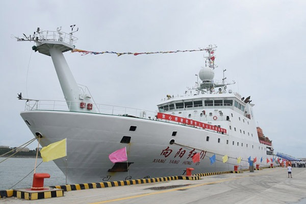 Xiangyanghong 01 departs from Qingdao for 10th Arctic expedition:null
