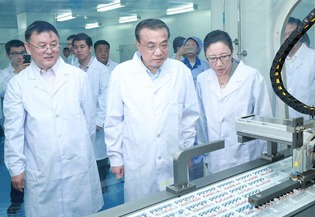 Premier Li urges stable supply of basic drugs during inspection:1