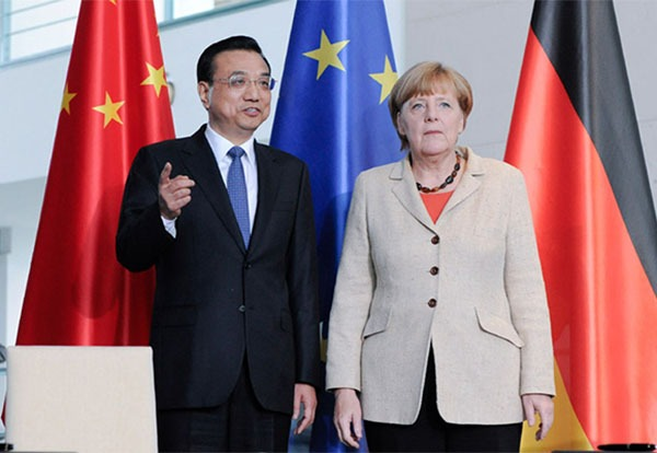 Photo gallery of Li 's visit to Germany on Oct 10:null