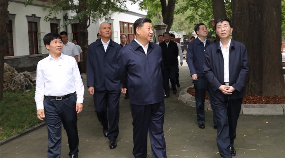 Xi stresses striving for national rejuvenation ahead of PRC's 70th founding anniversary:0
